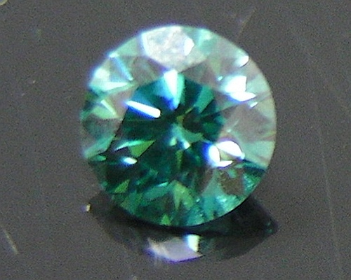 irradiated product diamond ring